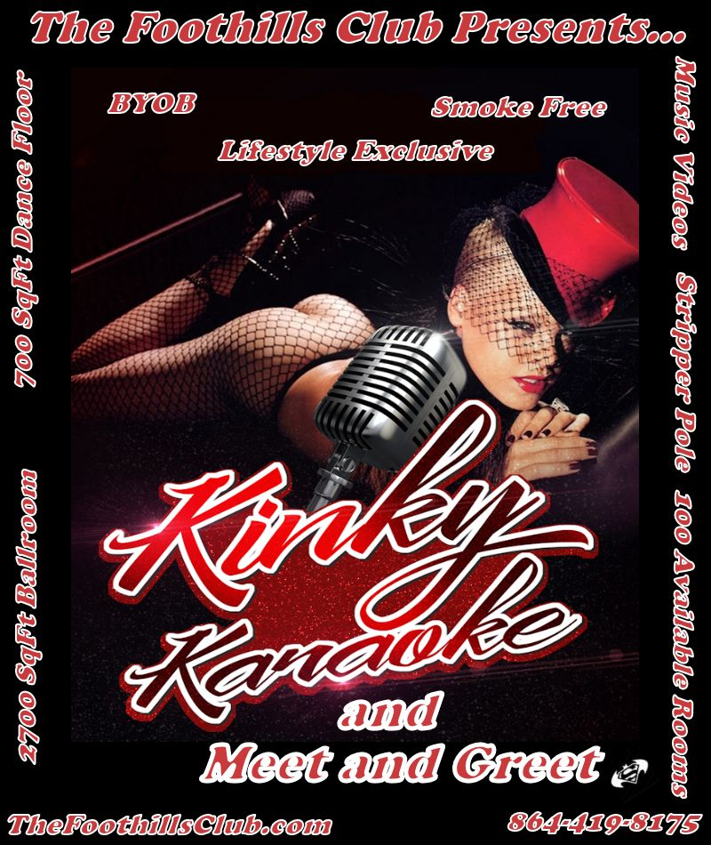 November 1, 2019 - 8:30pm<br/>Kinky Karaoke Meet and Greet